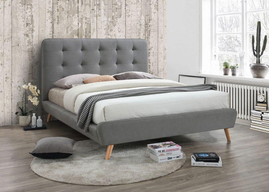 Modne łóżka tapicerowane